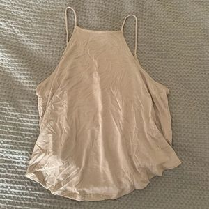 Urban Outfitters Taupe Crop Top